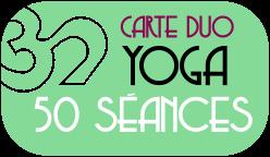 carte duo 50 séances